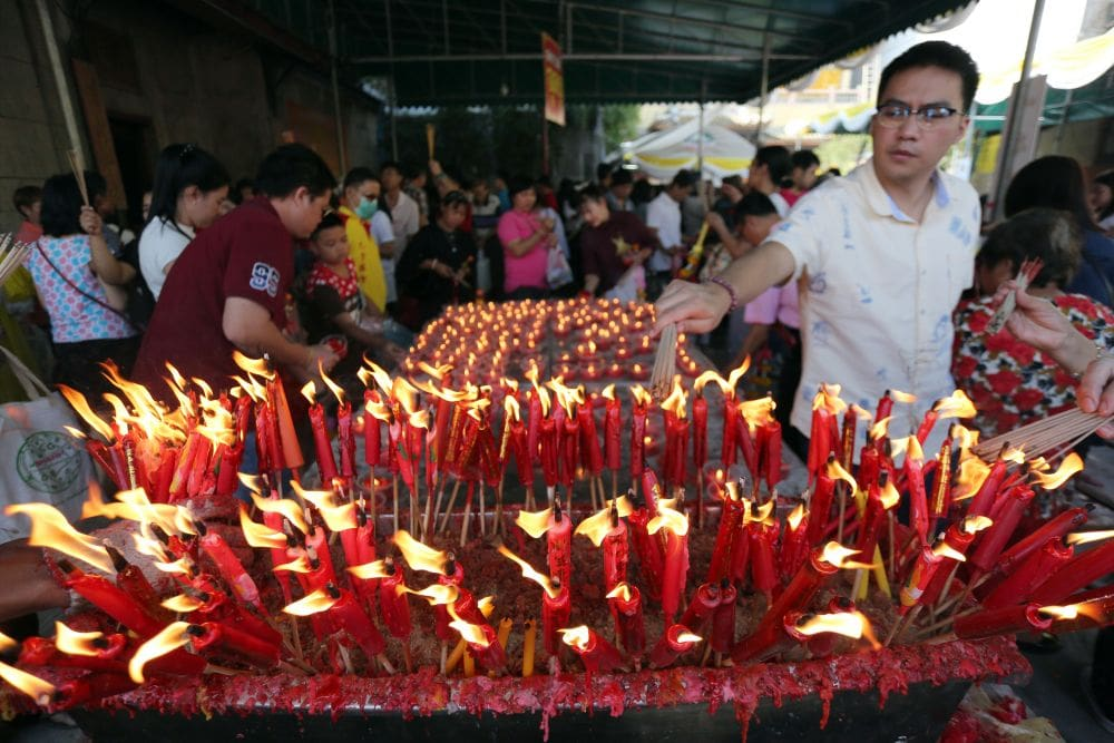 Limit use of joss sticks and incense - Chinese New Year 'pollution' | News by Thaiger