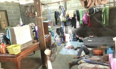 สลด! สาว 15 ท้อง 5 เดือนถูกจับยาบ้า ยายป่วย HIV ต้องเลี้ยงหลาน 22 คน | The Thaiger