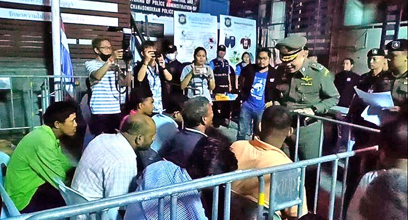 Another 522 law breaking foreigners rounded up in crackdown | The Thaiger