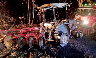 75 year old burned to death while fighting plantation fire in Sa Kaew   The Thaiger