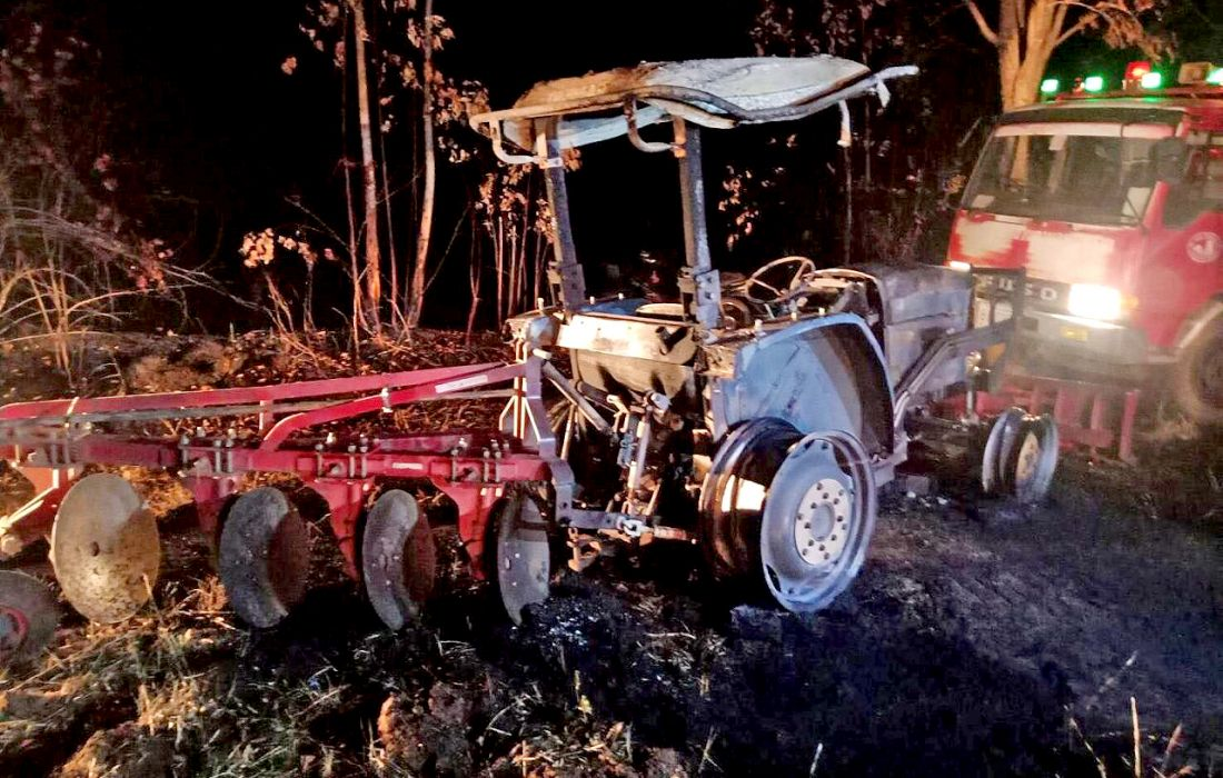 75 year old burned to death while fighting plantation fire in Sa Kaew | The Thaiger