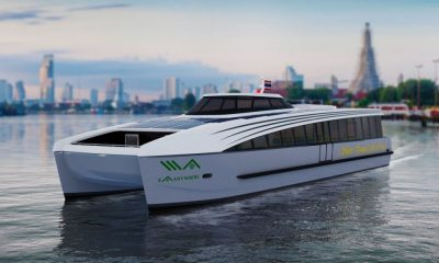 New electric ferries to ply the 'Venice of the East' in Bangkok | The Thaiger