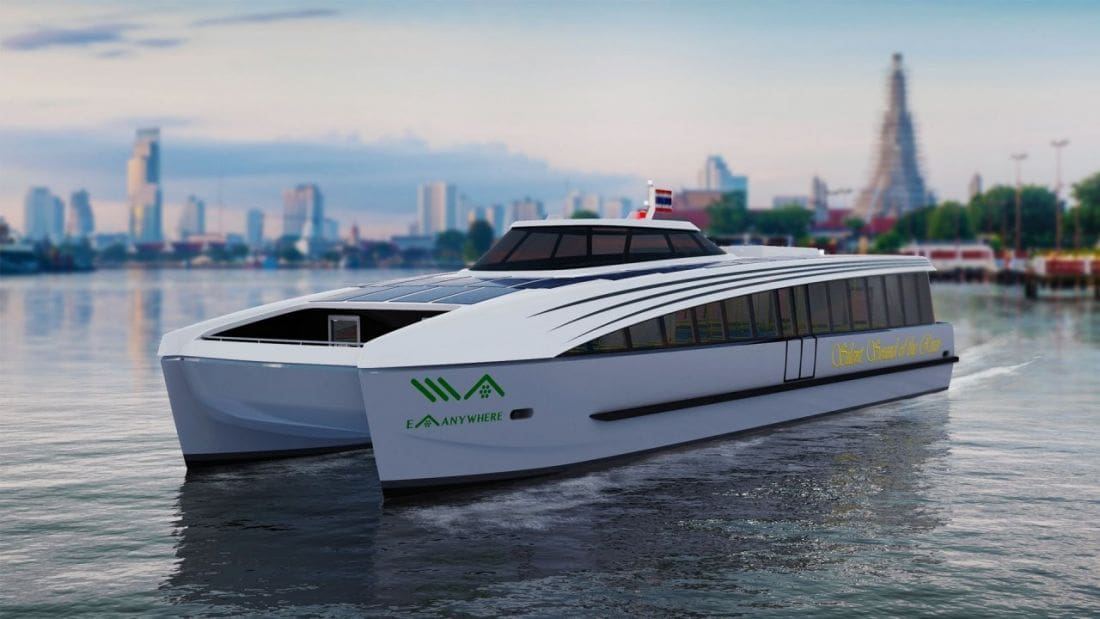 New Electric Ferries To Ply The 'Venice Of The East' In Bangkok