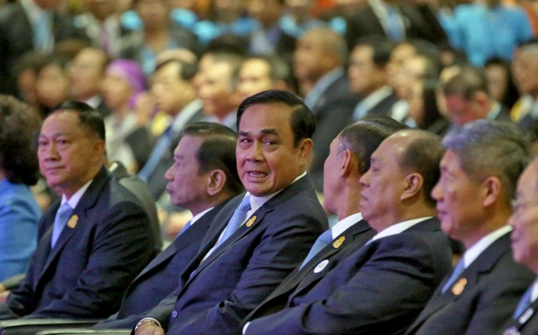 Prayut puts himself up as PM candidate in the March 24 Thai election | The Thaiger