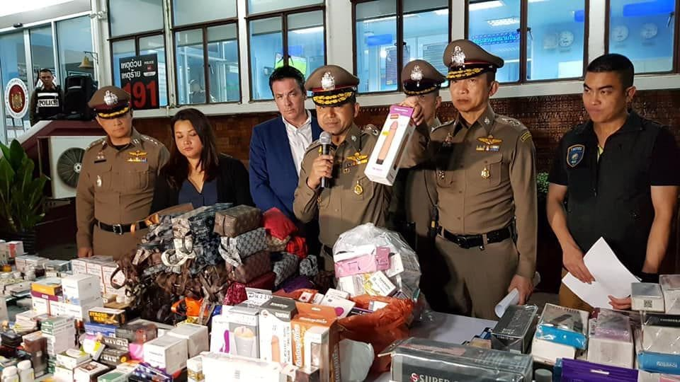 Fake Viagra, sex toys seized in raids on Bangkok street markets | News by The Thaiger