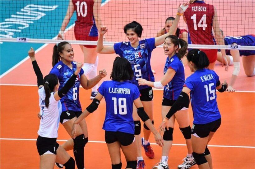 ตารางการแข่งขันวอลเลย์บอลหญิงไทยปี 2019 ในระดับนานาชาติ | The Thaiger