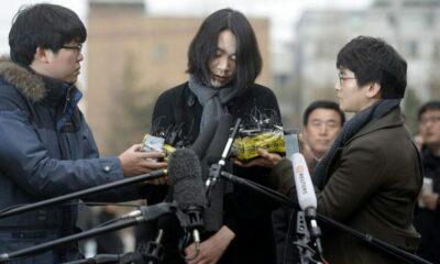 Die! Die! Korean Air 'nut rage' heiress assaults husband in video | The Thaiger