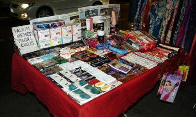 Police raid Nana area in Bangkok – seize sex toys and 'viagra' valued at 2 million baht   The Thaiger