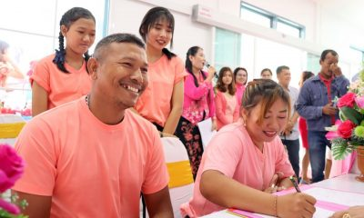 Couples get hitched in Phuket on Valentines Day | The Thaiger