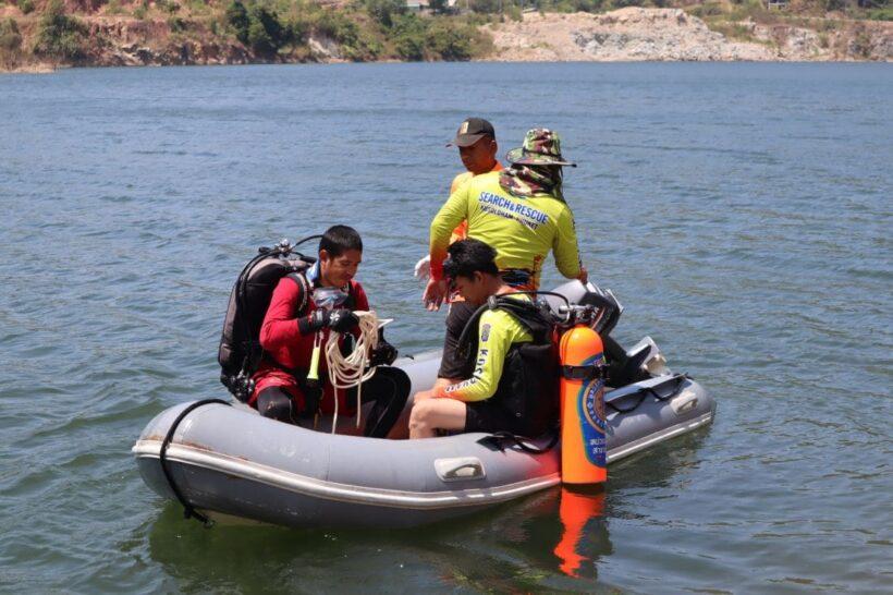 พบแล้วศพหนุ่มเมียนมาร์แข่งว่ายน้ำข้ามอ่างเก็บน้ำคลองกะทะกับเพื่อน ก่อนจมหายไปต่อหน้า | The Thaiger