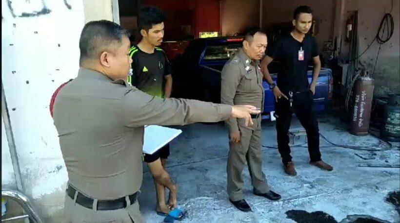 Man injured, chicken dead after explosion of oil tank in Krabi   The Thaiger