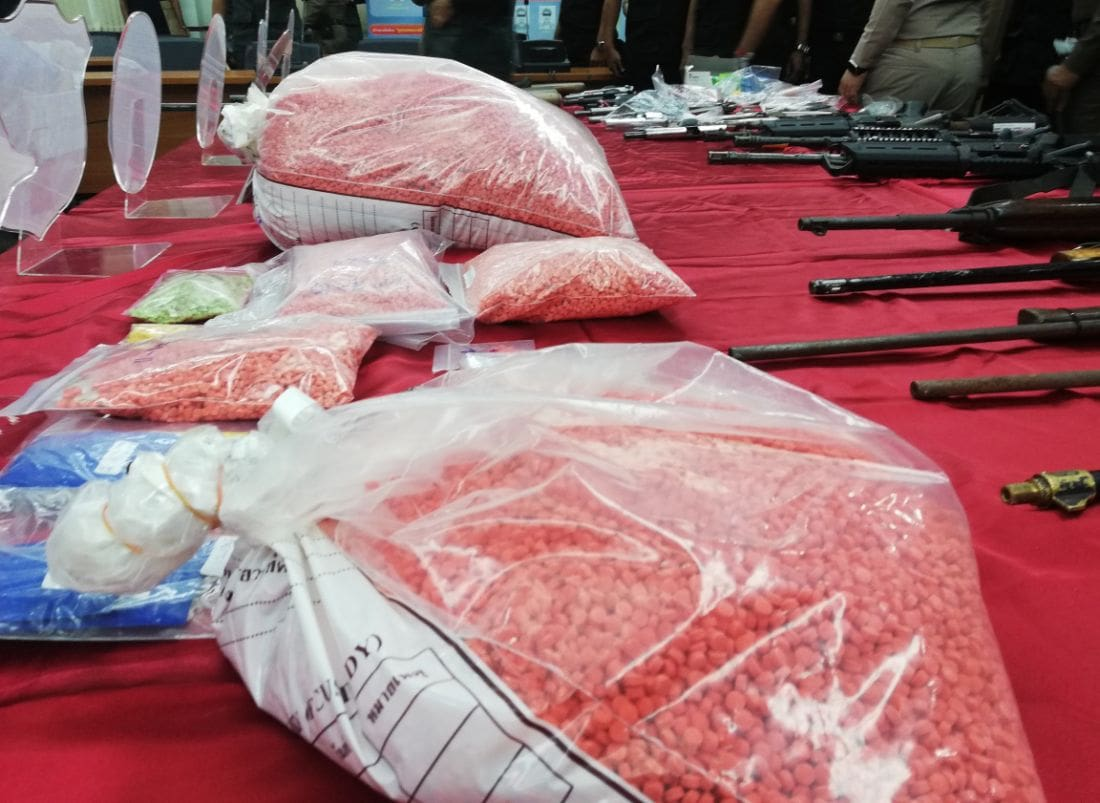 Krabi drug officers crack down on drugs and firearms | News by The Thaiger