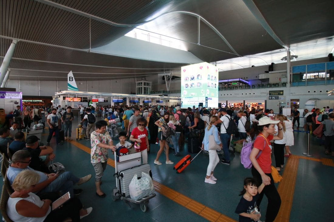 Flights delayed and cancelled at Phuket Airport – Closure of Pakistan airspace   The Thaiger