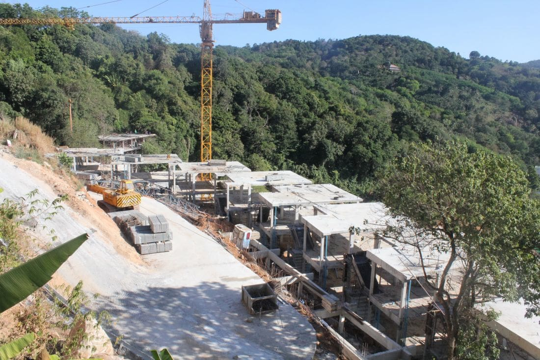 Construction of luxury condo development in Kata continues despite local protests | News by The Thaiger