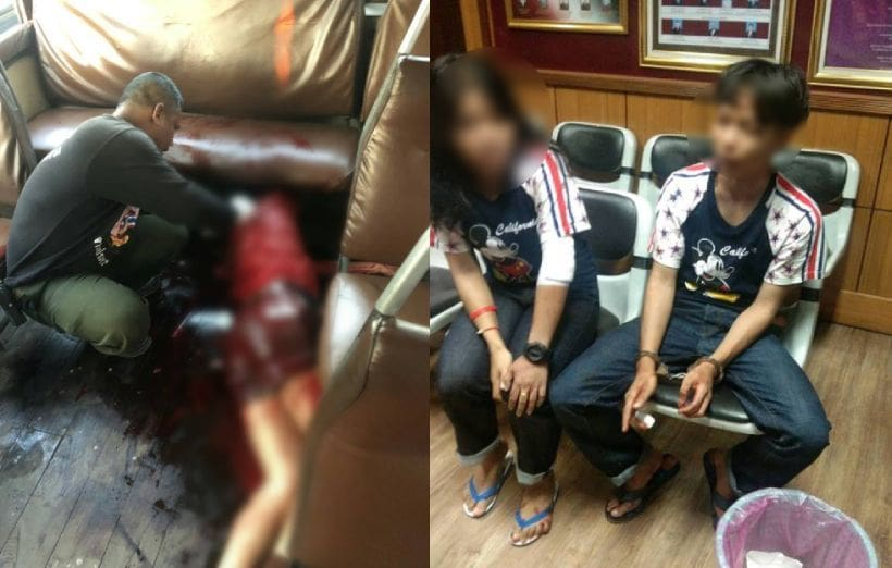 นักเรียนม.6ปทุมคงคา ถูกเด็กอาชีวะกร่างโชว์แฟน กระหน่ำแทงทะลุปอดดับบนรถเมล์ | The Thaiger