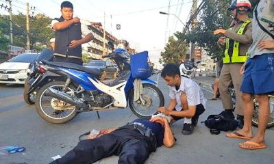 16 year old praised for rendering first aid at an accident in Pattaya | The Thaiger