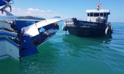 UPDATE: Speedboat collides with oil tanker off Phuket | The Thaiger