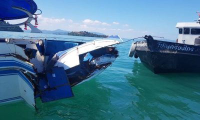 UPDATE: Speedboat captain charged, two Chinese tourists remain in hospital | The Thaiger