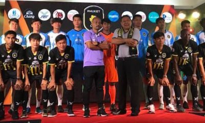 Phuket City football club has been announced | The Thaiger