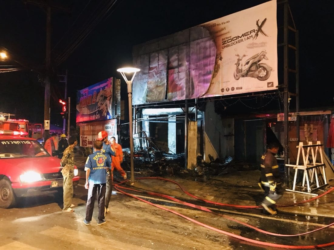 Fire destroys house in Phuket Town in an alleged arson attack | The Thaiger