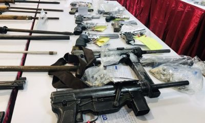 Firearms and drugs seized in southern provinces crackdown | The Thaiger