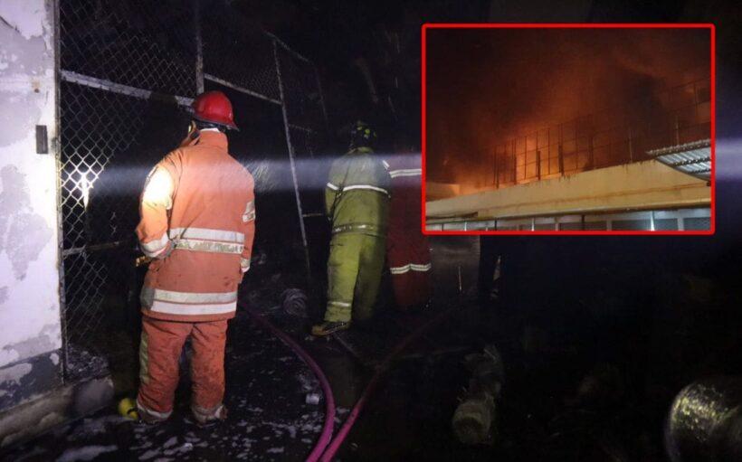 เกิดเพลิงไหม้อู่ซ่อมรถกลางเมืองภูเก็ตช่วงรุ่งสาง เสียหายหลายแสนบาท คาดไฟฟ้าลัดวงจร | The Thaiger