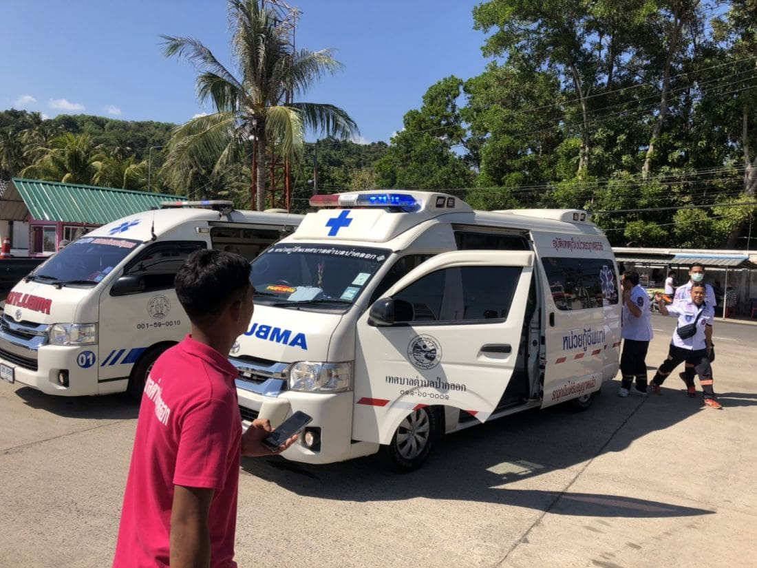 Twelve injured in boat accident off Phuket - PHOTOS | News by The Thaiger