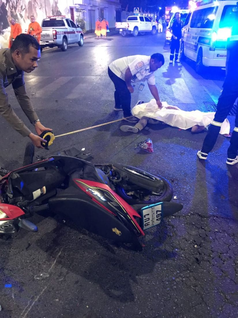 Three die in Phuket crashes in two separate incidents | News by The Thaiger