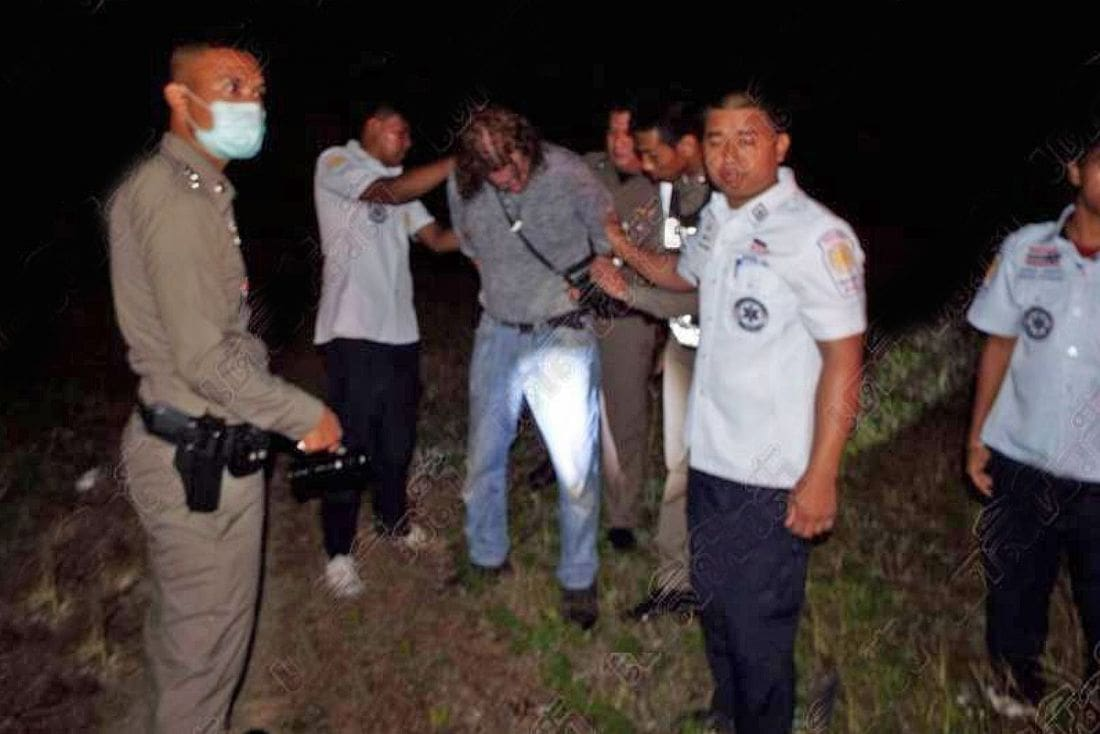 Swedish man runs amok on Phuket's main road | The Thaiger