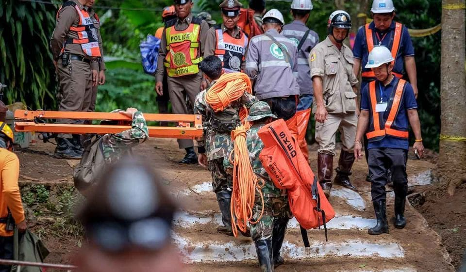 National Geographic tries to secure rights to produce Tham Luang rescue doco | The Thaiger