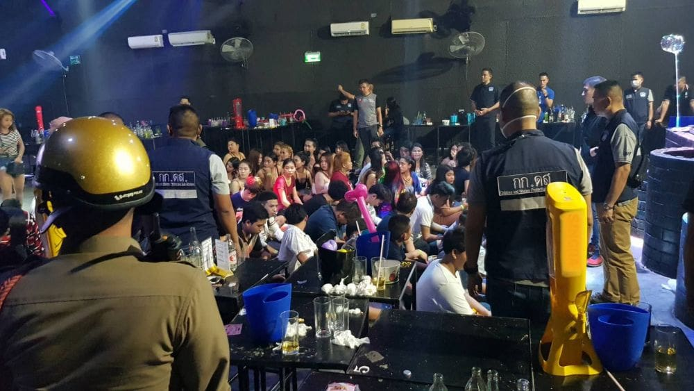 400cc Nightclub raided in Bangkok. 92 test positive for drugs. | News by Thaiger