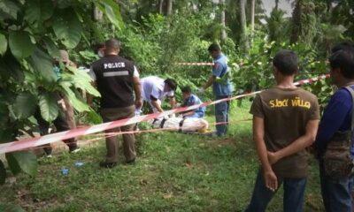 หึงรุนแรง! หนุ่มชักปืนกราดยิงแฟนสาว 6 นัด ก่อนหนีไปฆ่าตัวตายหน้าศาลพระภูมิ | The Thaiger
