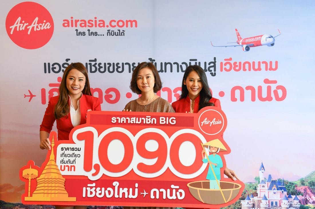 AirAsia adds more Thailand-Vietnam flights | News by The Thaiger