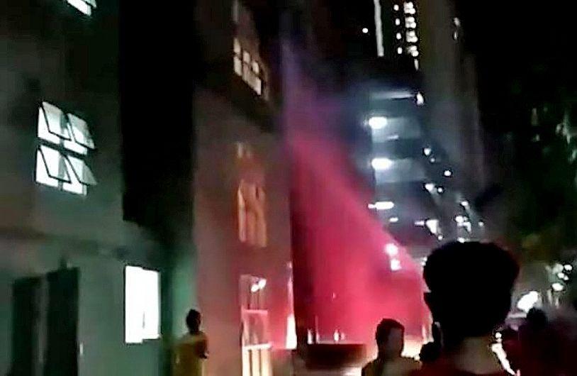 Five taken to hospital following Bangkok condo fire | The Thaiger