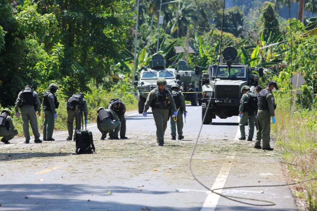 Southern ranger killed, two injured in Yala bomb ambush | News by The Thaiger