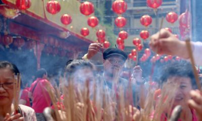 Limit use of joss sticks and incense – Chinese New Year 'pollution' | The Thaiger