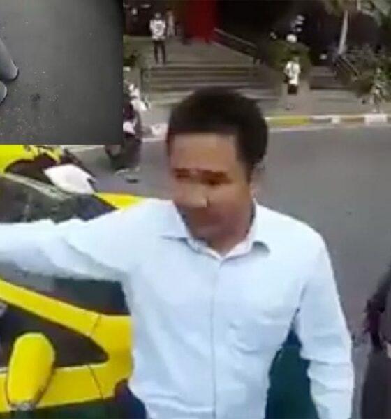 จราจร รวบหนุ่มขับแท็กซี่ แต่งกายผิดระเบียบ ใส่รองเท้าแตะ-ไม่ติดป้ายชื่อ แถมดูหมิ่นพนักงานจนได้เรื่อง | The Thaiger