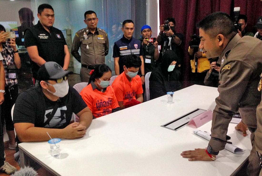 Man arrested over 50 million baht scam | The Thaiger