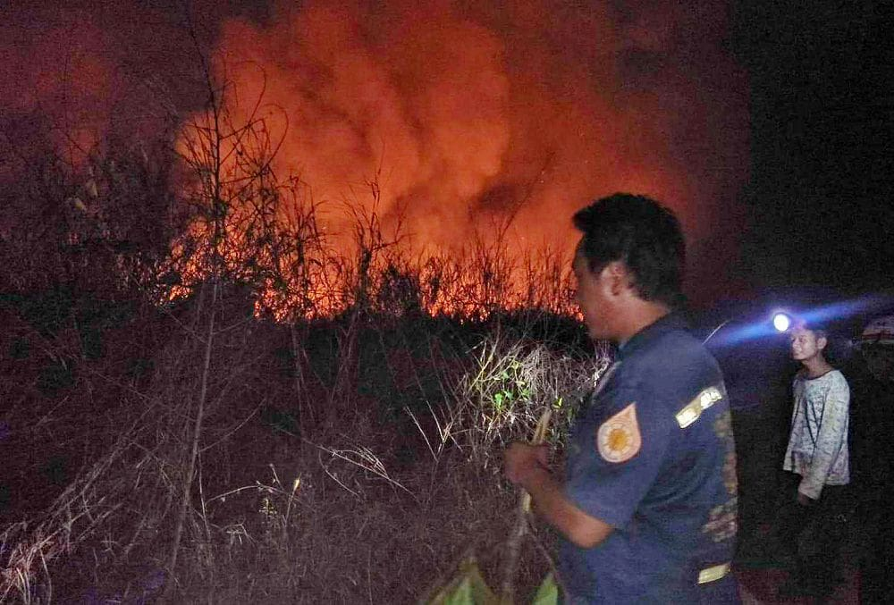 Fears that plantation fire could add to Bangkok pollution woes   The Thaiger
