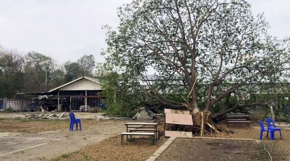Lemon-sized hailstones hit 700 homes around Udon Thani | News by The Thaiger