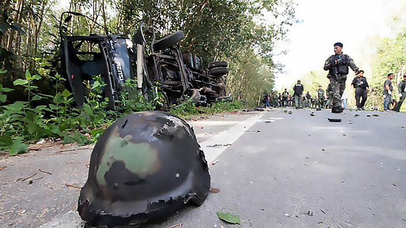 Surge of violence over the weekend in Thailand's deep south | The Thaiger