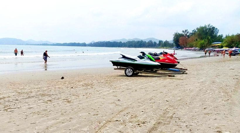 Jetski operators in Hua Hin told to 'stick to guidelines' | News by The Thaiger