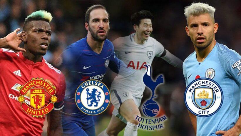 สรุปตารางคะแนน ฟุตบอลพรีเมียร์ลีก อังกฤษ 2018/19 เดือนกุมภาพันธ์   The Thaiger