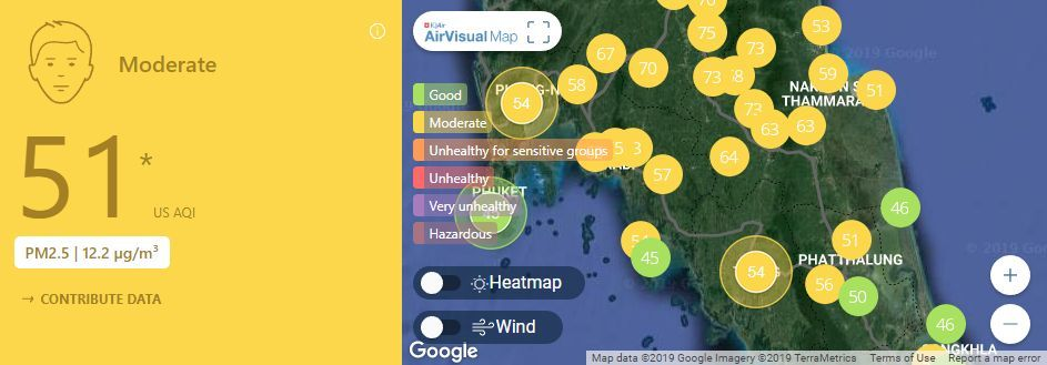 Air quality for Thailand – February 28 | News by Thaiger