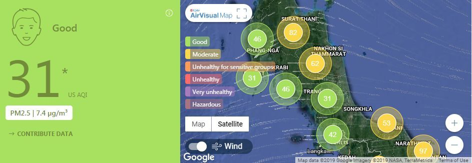 AIR POLLUTION: Air quality for Thailand – February 12 | News by Thaiger