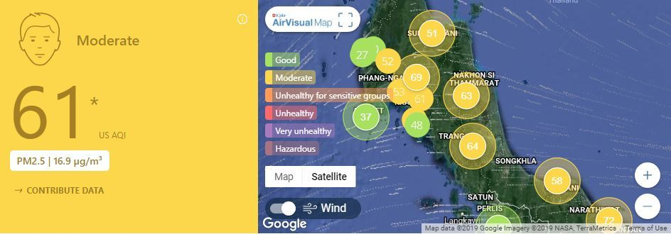Air quality for Thailand – February 8 | News by Thaiger