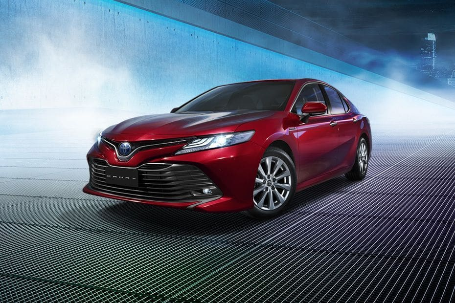 New Camry Hybrid provides luxury in a larger model with electric advantages | The Thaiger