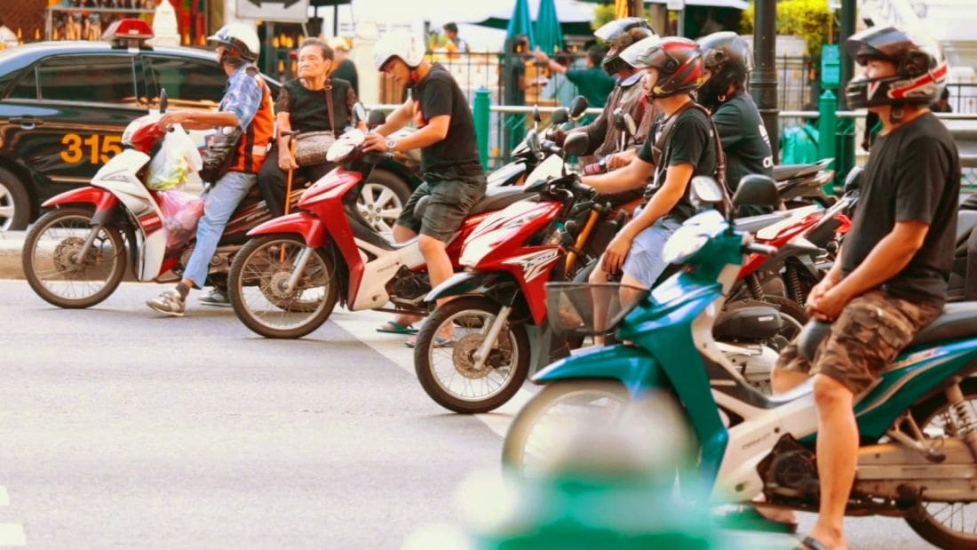 New points system for traffic violations comes into force mid-year | The Thaiger