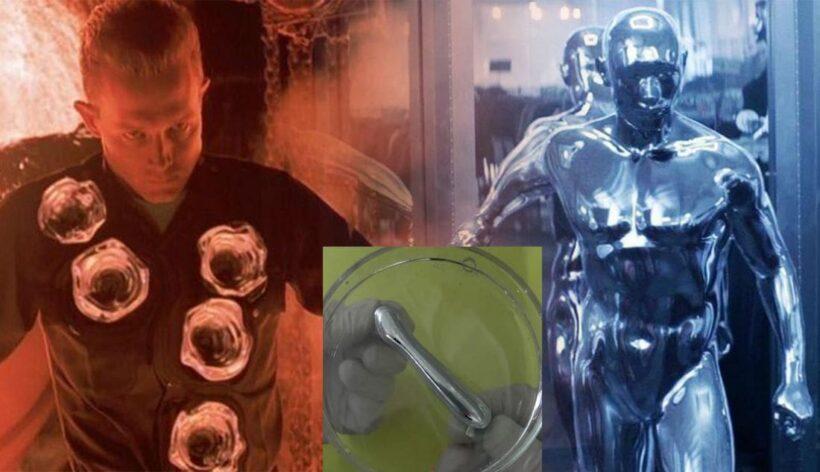 อย่างกับในหนัง! นักวิทยาศาสตร์คิดค้น 'โลหะเหลว' สำเร็จ เปลี่ยนรูปร่าง ยืด-หด ได้ | The Thaiger