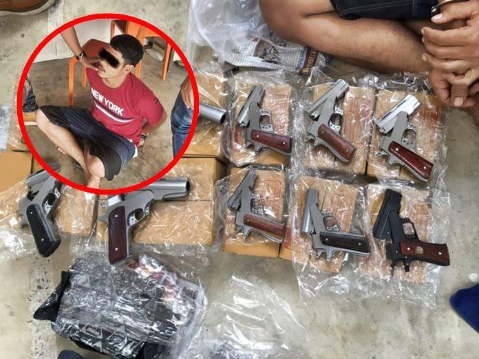 รวบอดีตหนุ่มโรงกลึงหัวใส ทำปืนไทยประดิษฐ์ขายผ่านออนไลน์ ส่งง่าย รายได้ดี | The Thaiger